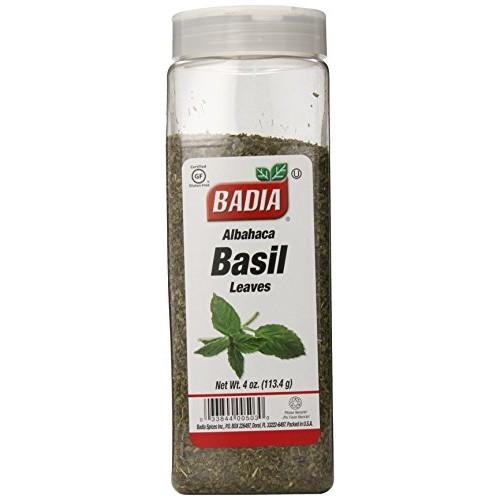 Badia Basil Leaves Albahaca, 4-Ounce Pack of 6