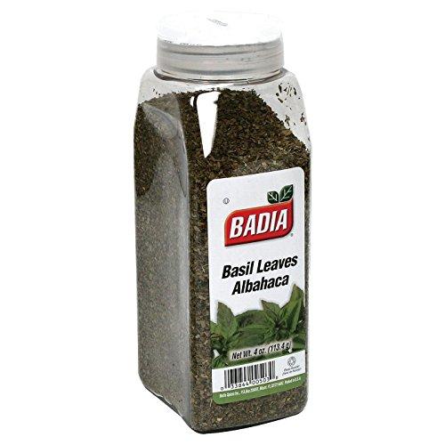 Badia Basil Sweet Leaves, 4 oz