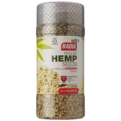 Badia Hulled Hemp Seeds 9 oz