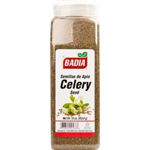 Badia Celery Seed Whole 16 oz