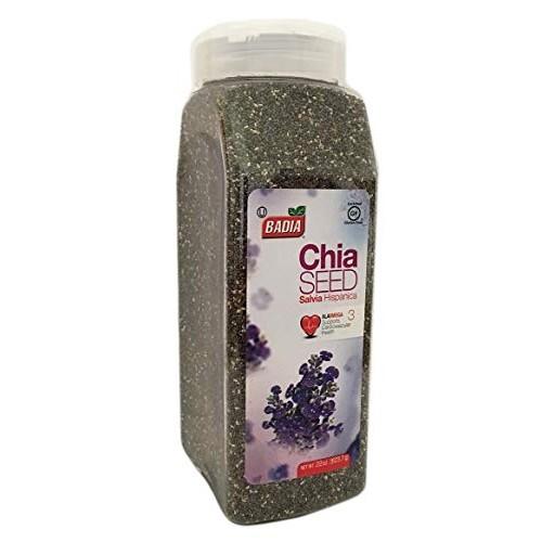 22 oz Bottle-Whole Chia Seeds/Semillas Salvia Hispanica Kosher