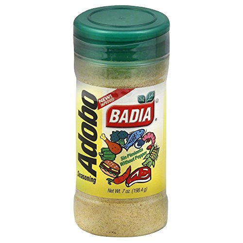 Badia Adobo Without Pepper, 7 Ounce Pack of 6
