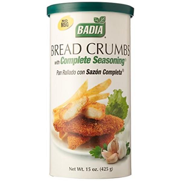 Badia Bread Crumbs with Complete Seasoning 15 oz