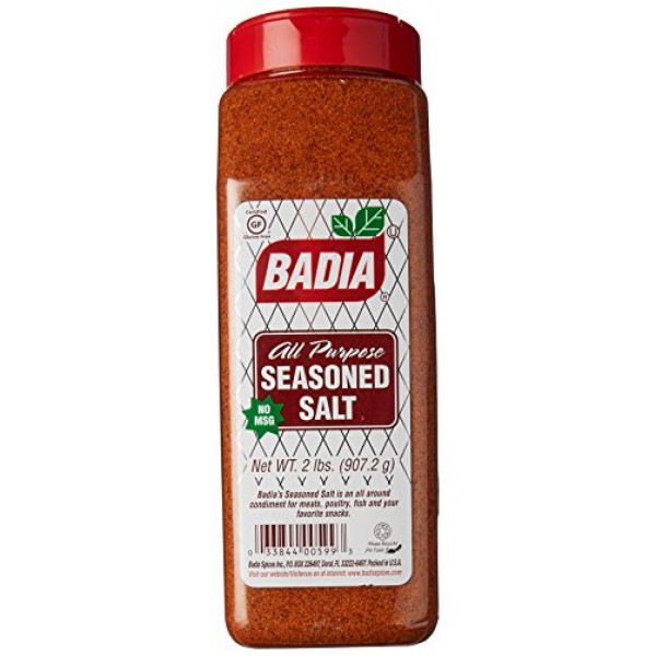 Badia Seasoned Salt 2 lbs Pack of 2