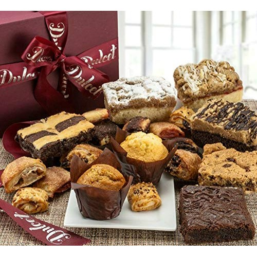 Gourmet Assorted Bakery Pastry Deluxe Gift Baskets - by Baga Goo...