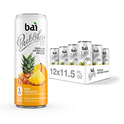 Bai Bubbles, Sparkling Water, Peru Pineapple, Antioxidant Infuse...