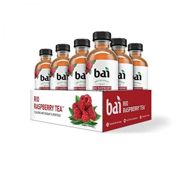Bai Iced Tea, Rio Raspberry, Antioxidant Infused Supertea, Craft...