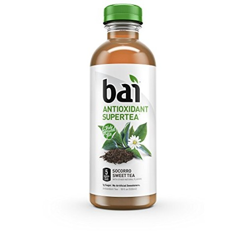 Bai Iced Tea, Socorro Sweet, Antioxidant Infused Supertea, Craft...