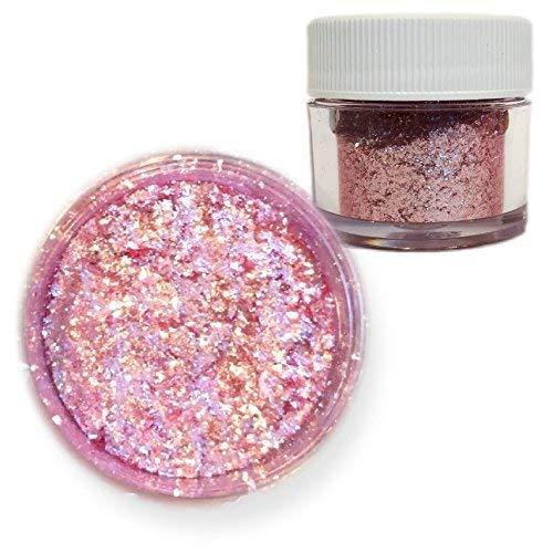 Pink Rose Edible Tinker Dust Edible Glitter 5g Jar | Bakell Food...