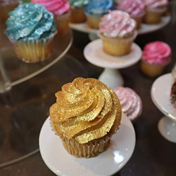 BAKELL Gold Edible Glitter, 25 Gram | TINKER DUST Edible Glitter...