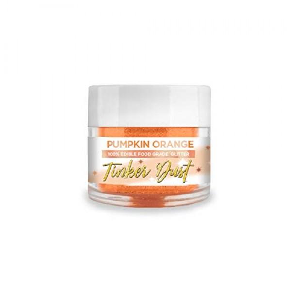 BAKELL Pumpkin Orange Edible Glitter, 5 Gram | TINKER DUST Edibl...