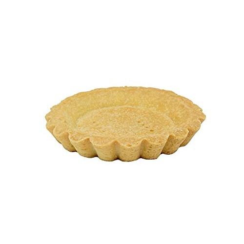 Tart Shell 4 Butter, Vanilla, Round, Fluted, Amazon 21 Pcs.