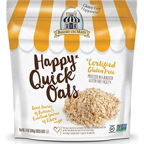 Bakery On Main Happy Quick Oats, 24 Ounce - 4 per case.