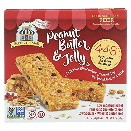 Bakery On Main 4.4.8 Peanut Butter & Jelly Granola 6x5/1.2 OZ