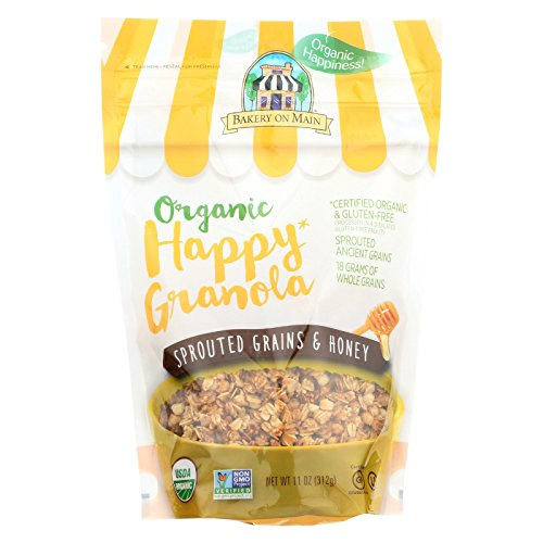 Bakery On Main Organic Happy Granola - Sprouted Grains & Honey -...