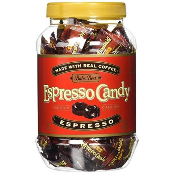 Balis Best Candy Jar, Espresso, 1 Pound
