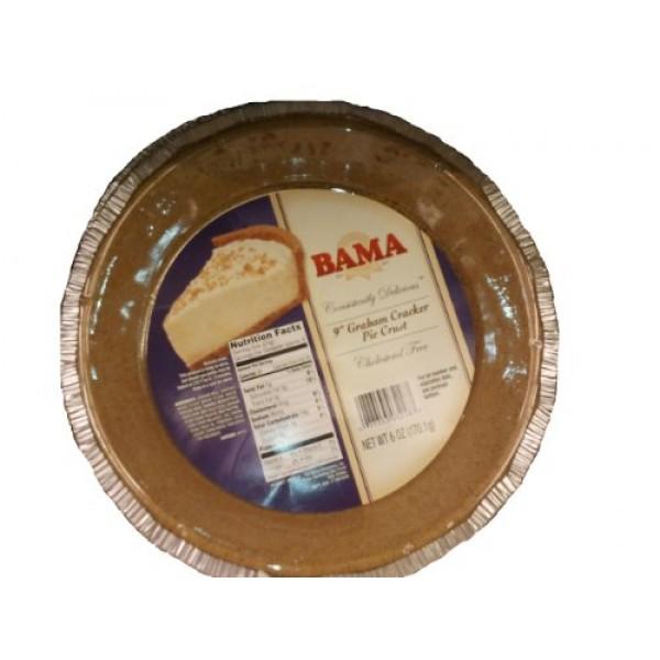 9 Graham Cracker Pie Crust 6 oz 170.1g Cholesterol Free Ready t...