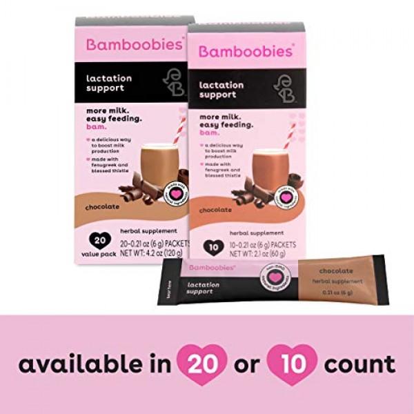 Bamboobies Lactation Support Drink Mix | Breastfeeding Supplemen...