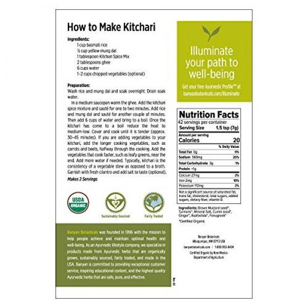 Banyan Botanicals Kitchari Spice Mix – 97% Organic Ayurvedic Spi...