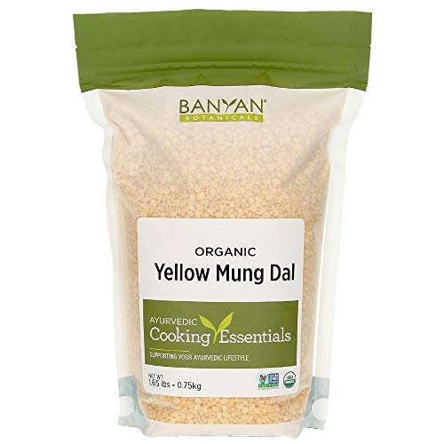 Banyan Botanicals Organic Yellow Mung Dal - Certified USDA Organ...