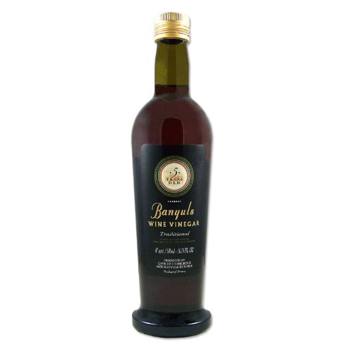 Banyuls Wine Vinegar - Imported From France, 16.9-Ounce Bottles ...