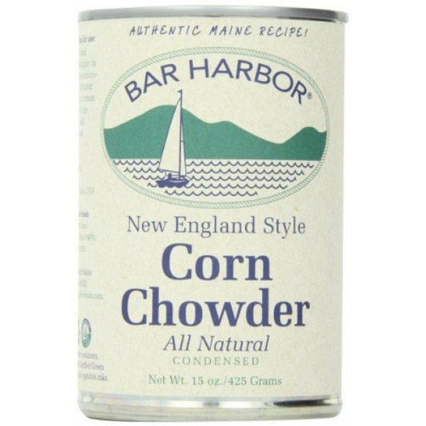 Bar Harbor Corn Chowder, 15 Ounce