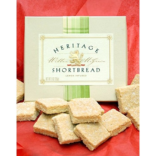 Barbaras Cookie Pies LLC LEMON SHORTBREAD COOKIES - 9 OZ Box