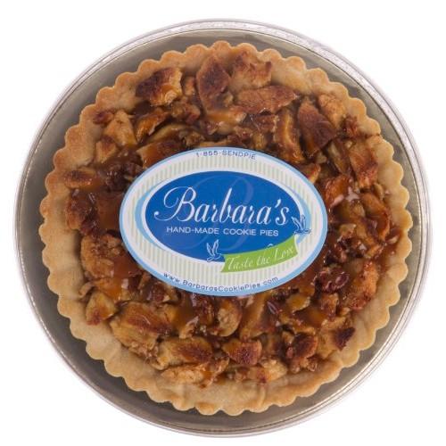 Barbaras Hand-Made Cookie Pies Gourmet Apple Caramel Cookie Pie