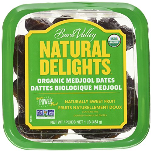 Bard Valley, Dates Medjool Organic, 16 Ounce