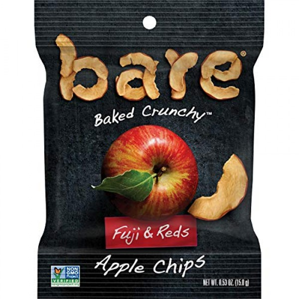 Bare Natural Apple Chips, Fuji & Reds, Gluten Free + Baked, Snac...