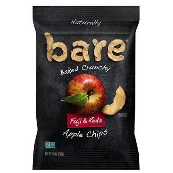 Bare Fuji and Reds Apple Chips, 10 oz Jumbo Bag