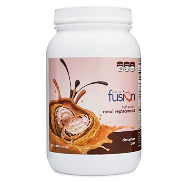 Bariatric Fusion Meal Replacement Protein 21 Serving Tub Cinnamo...