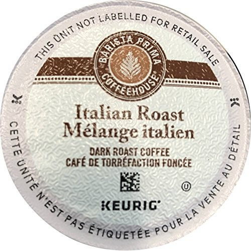 Barista Prima Coffeehouse Coffee, Keurig K-Cups, Italian Roast, ...