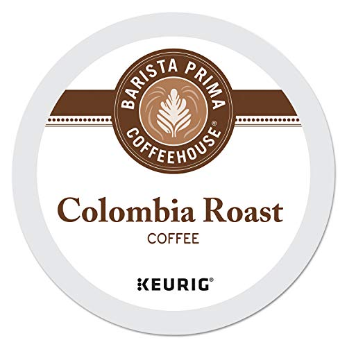 Barista Prima Coffeehouse Medium Dark Roast Extra Bold K-Cup for...