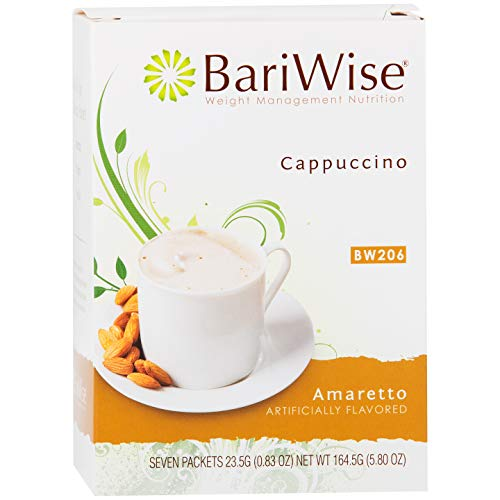 BariWise High Protein Hot Drink/Instant Low-Carb Cappuccino Mix ...