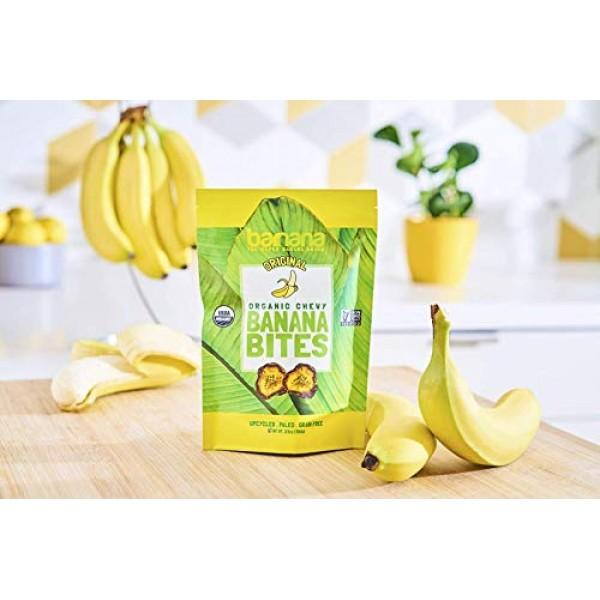 Barnana Organic Chewy Banana Bites - Original - 3.5 Ounce, 3 Pac...