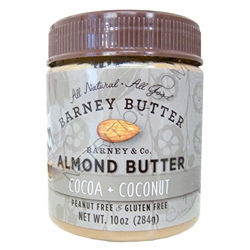 Barney Butter Almond Butter, Cocoa and Coconut, 10 Ounce 3 Pack