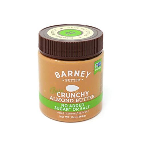 BARNEY Almond Butter, Bare Crunchy, No Sugar No Salt, Paleo, KET...