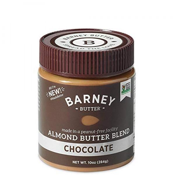 BARNEY Almond Butter, Chocolate, Paleo Friendly, KETO, Non-GMO, ...