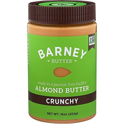 BARNEY Almond Butter, Crunchy, Paleo Friendly, KETO, Non-GMO, Sk...