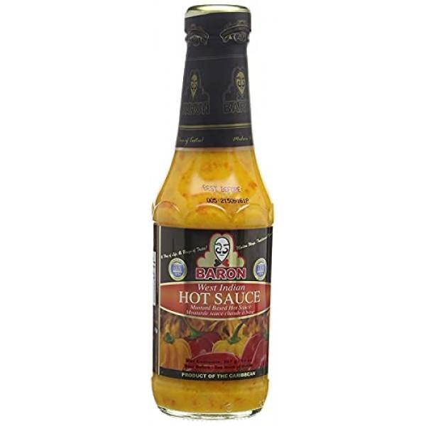 Baron West Indian Hot Sauce 397ml