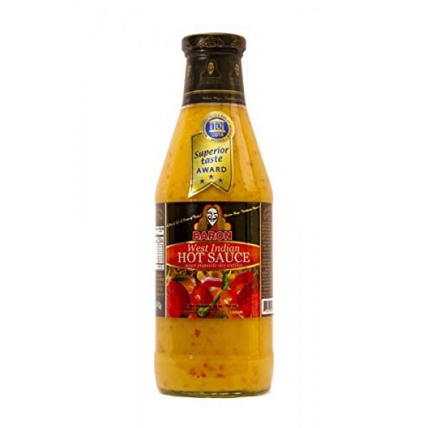 Baron West Indian Hot Sauce - 28 fl.oz