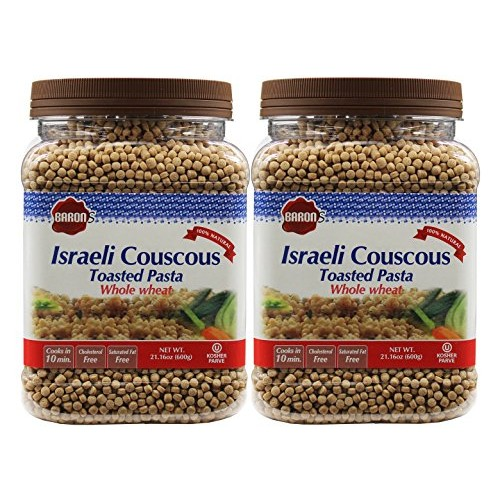 Barons Kosher Israeli Couscous Toasted Pasta 21.16-ounce Jar - ...