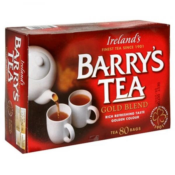 Barrys Tea Gold Blend, 80-Tea Bag Boxes Pack of 6