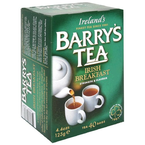 Barrys Tea Irish Breakfast, 80-Tea Bag Boxes Pack of 6