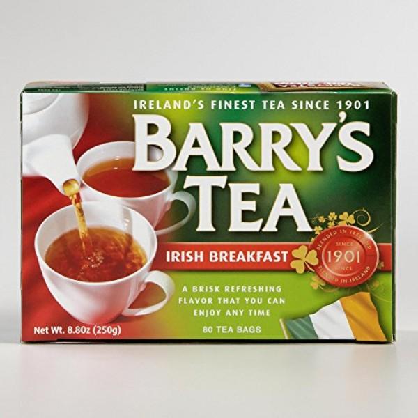 Barrys Irish Breakfast Tea 80 Bags 4-pack