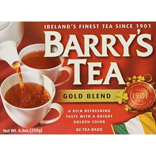 Barrys Tea Gold Blend 80 Count 2-pack