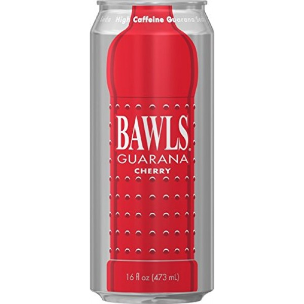 BAWLS Cherry 16oz 12pack