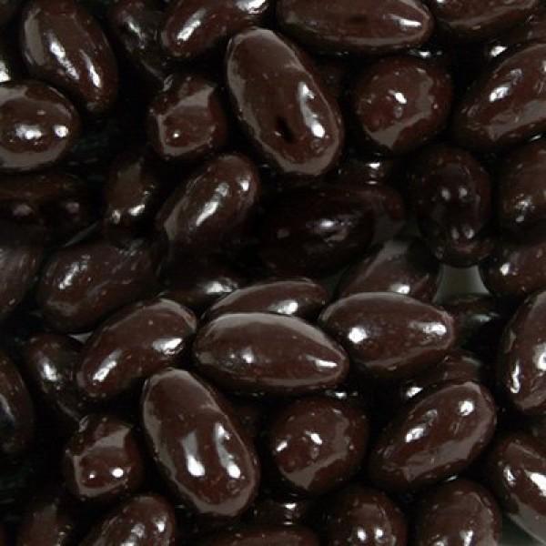 BAYSIDE CANDY Sugar Free Dark Chocolate Almonds, 5LBS