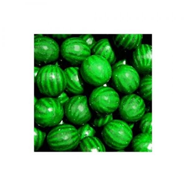 Green Watermelon Dubble Bubble Gumballs 1 5lb